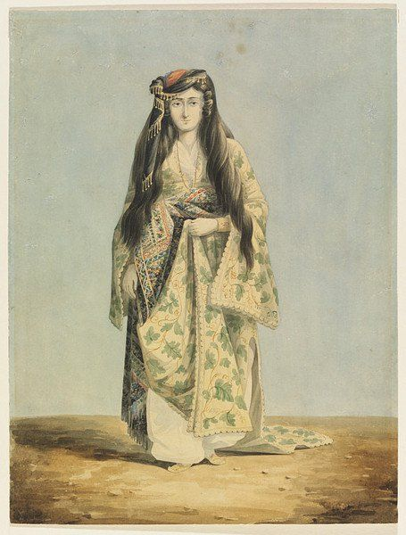 Watercolour, An Armenian Woman, about 1816-1824, by William Page