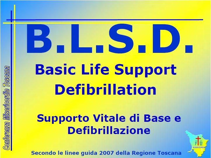BLSD Definizione