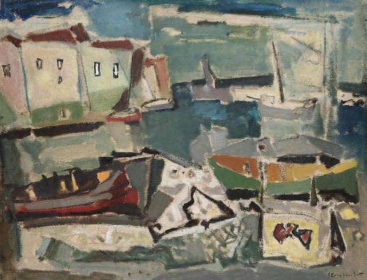 .:. Σπυρόπουλος Γιάννης – Giannis Spyropoulos [1912-1990] An island port