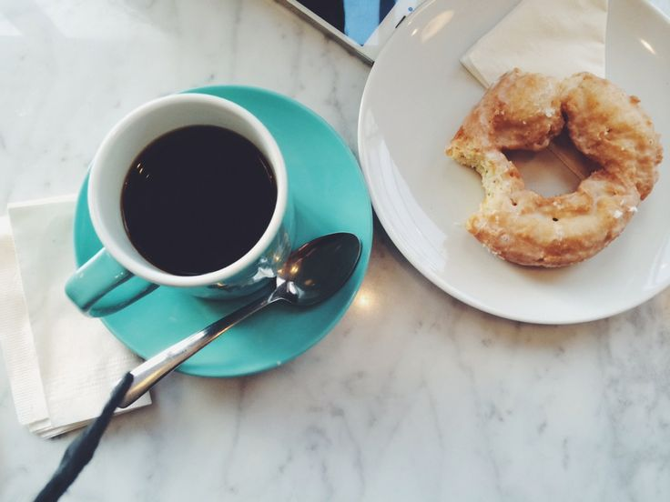 49th Parallel & Lucky's Doughnuts - you MUST order a donut with your coffee.