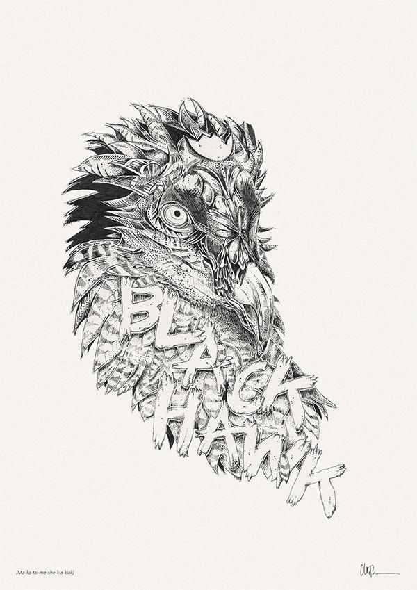 Illustrations 2013 by Olli-Pekka Jauhiainen, via Behance
