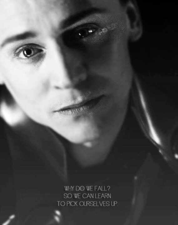 Saaaaad Loki... Does not give you the right to go crazy and attack earth!!! Still super sad<-it KINDA does