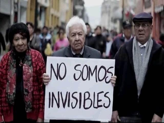 ¡Por favor, los mayores primero! #felizvita en la lucha por conciencia en la importancia de nuestros mayores
