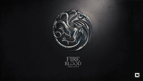 Game of thrones wallpapers by Sasha Vinogradova, via Behance