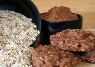 Μαλακά και πεντανόστιμα cookies με κακάο και Quaker σε 3 λεπτά -χωρίς ψήσιμο!