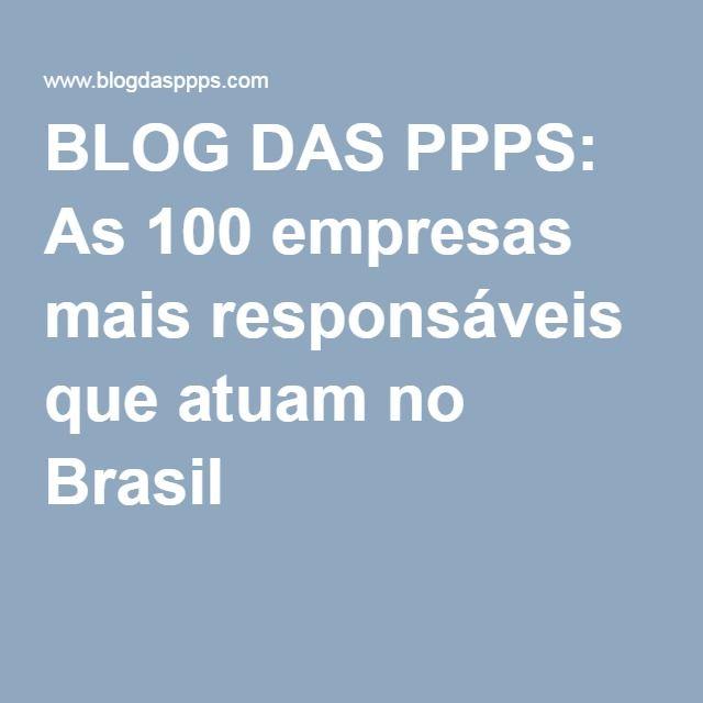 As 100 empresas mais responsáveis que atuam no Brasil: Comportamento éticoTransparência e boa governançaResponsabilidade com funcionáriosCompromisso com meio ambienteContribuição à comunidade