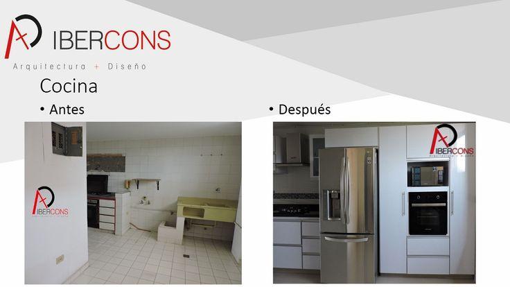 En Ibercons Arquitectura + Diseño construyendo futuro, tenemos las herramientas y el equipo necesario para trabajar en la remodelación de tu cocina. Consúltanos en: www.ibercons.com.co