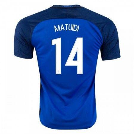 Frankrike 2016 Blaise Matuidi 14 Hjemmedrakt Kortermet.  http://www.fotballpanett.com/frankrike-2016-blaise-matuidi-14-hjemmedrakt-kortermet-1.  #fotballdrakter