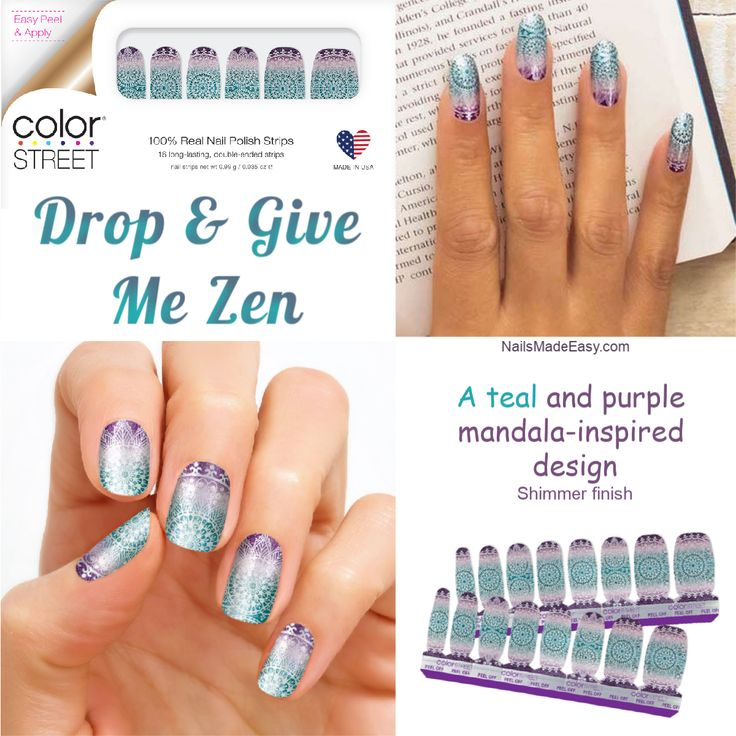 Drop & Give Me Zen is inspired by the mandala design. How