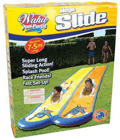 Wahu Pool Party Toys Double Super Slide