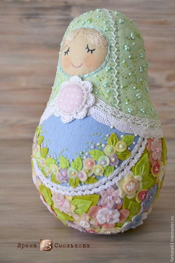 Russo fedora conto popular, ou criar uma boneca primavera gentil - Feira Mestres - artesanal, feito à mão