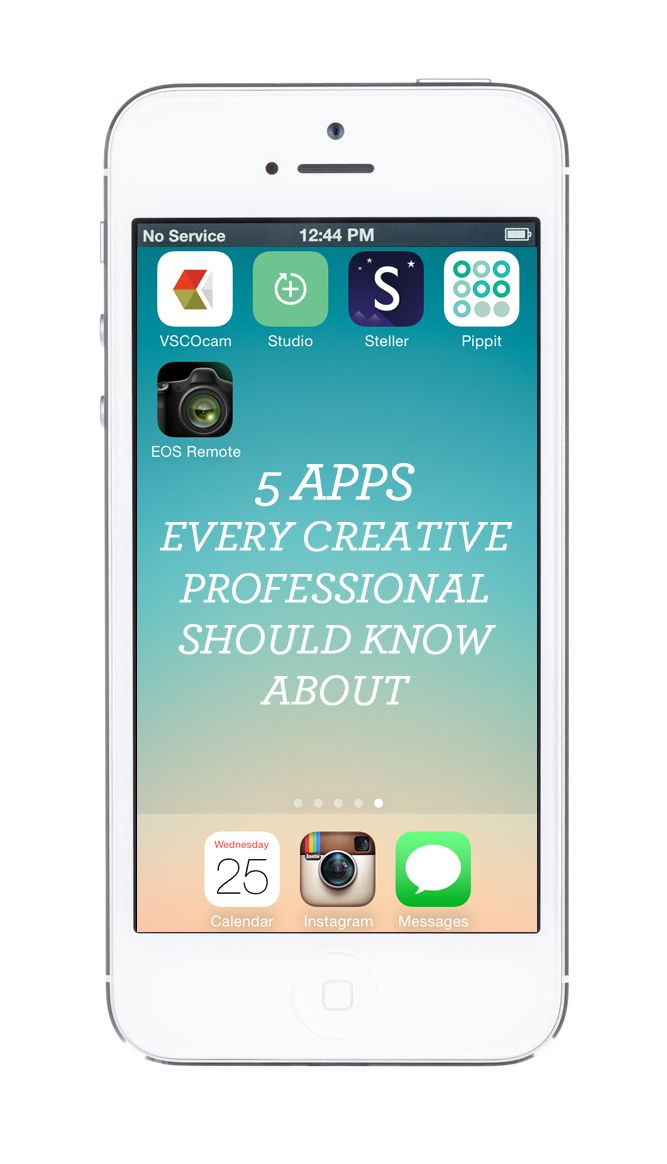 5 APPS EVERY CREATIVE SHOULD KNOW