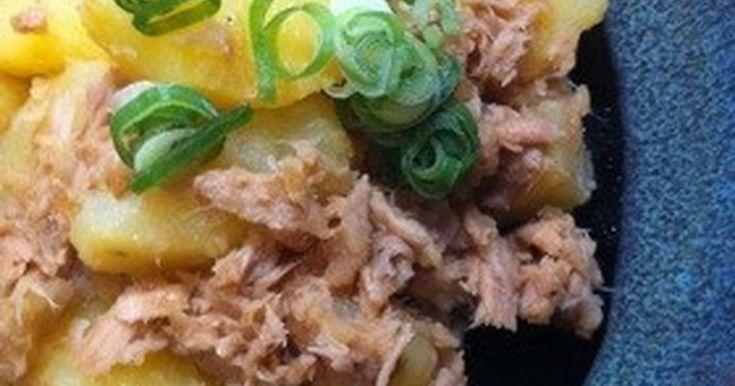 ツナの旨味がポテトに絡んで美味ー(^-^) ビールのお供にもバッチリ☆ 超簡単なのに、デリな味です♪