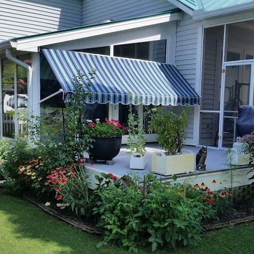 12 Best Beautiful House Awnings Images On Pinterest