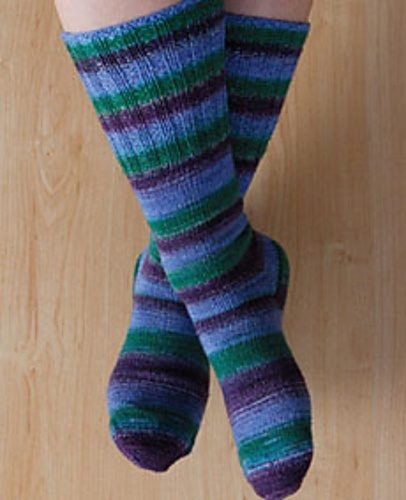 Toe Up Knitted Sock Pattern Free : 32 best images about Magic Loop Patterns on Pinterest Free pattern, Knittin...