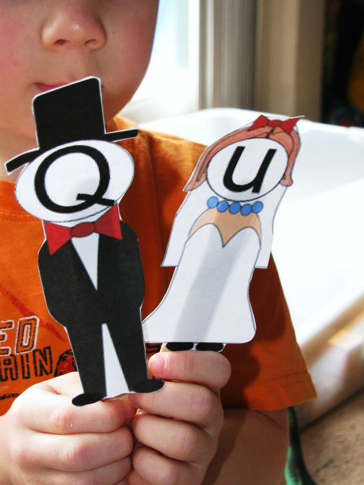 Letter of the Week: Q - includes Free Q and U Get Married Printable plus lots of other letter Q crafts/activities