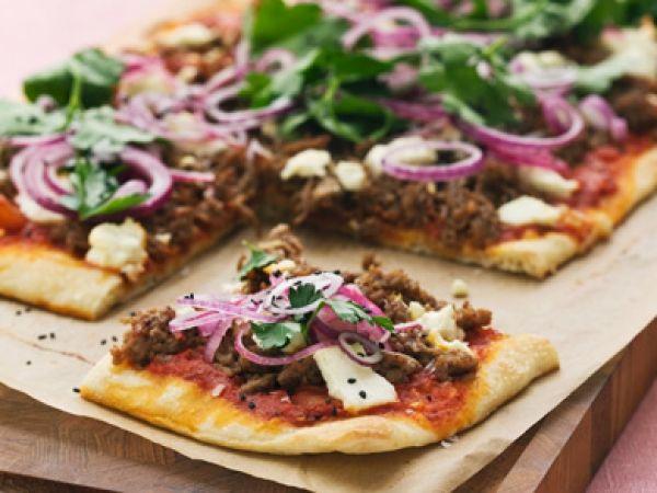 Pizza met gehakt - Libelle Lekker!