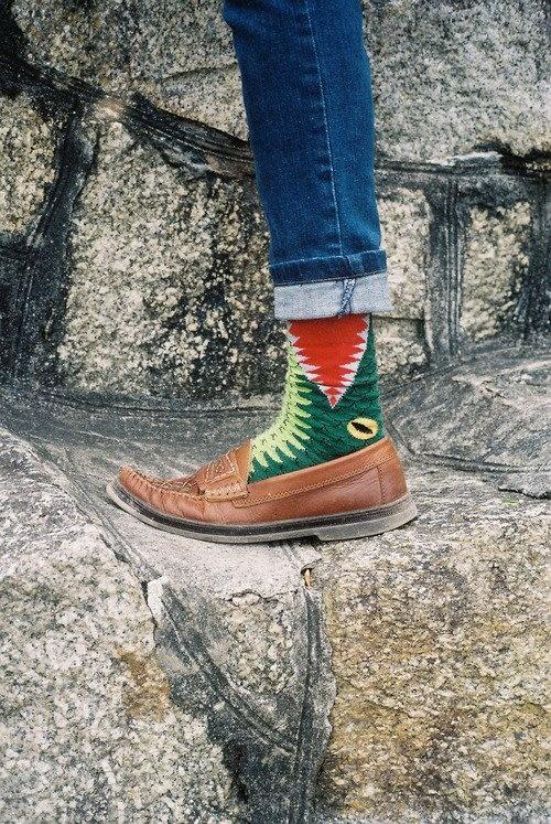 ha!Funky Socks, Fashion, Style, Clothing, Closets, Fun Stuff, Men Shoes, Alligators Socks, Fun Socks