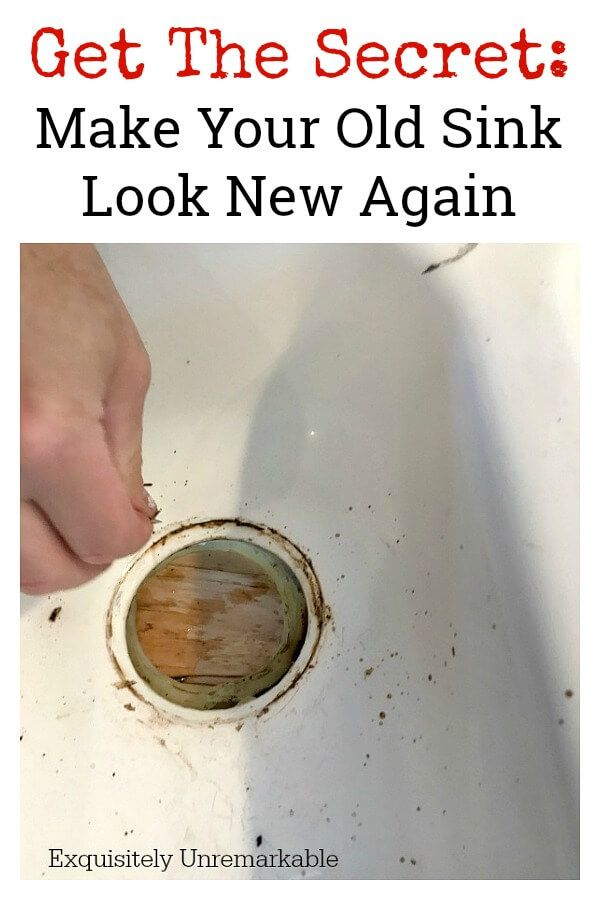 The Best Way To Clean A White Porcelain Or Stainless Sink Porcelain Sink Clean Kitchen Sink Clean Porcelain Sink