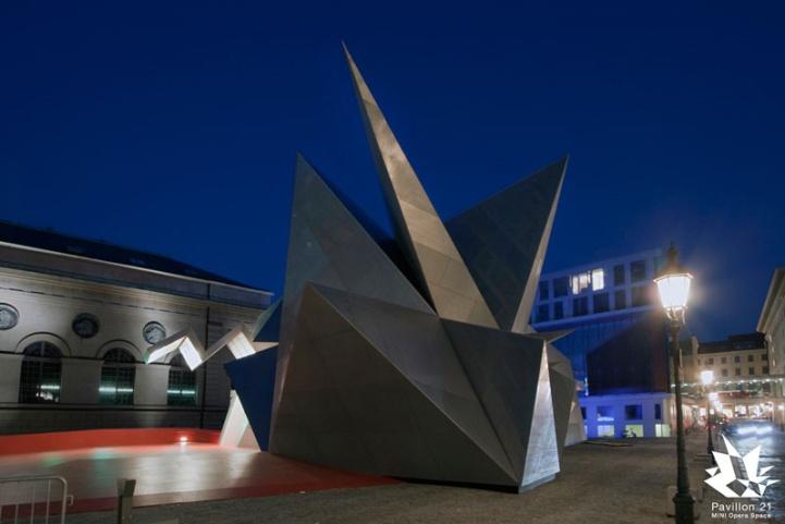 Pavilion 21 MINI Opera Space - Architecture Linked - Architect & Architectural Social Network