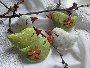 Dekorácie - jabĺčkové vtáčkatká - 3559307