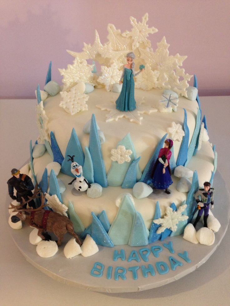 1000 Images About Frozen Cake On Pinterest Frozen Cake