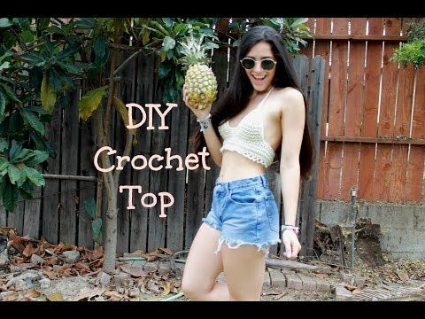 DIY Crochet Tutorials on Youtube! Must references these when creating my festival tops!
