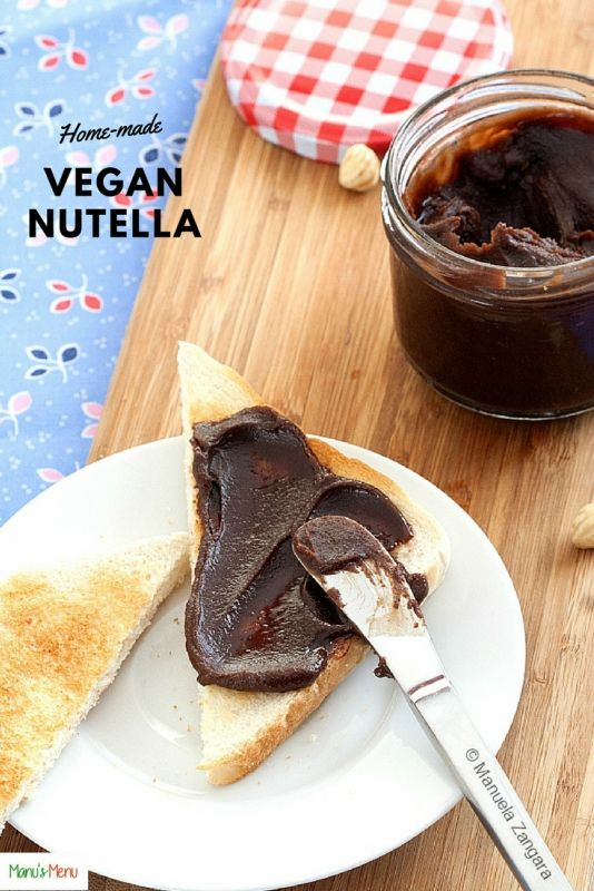 Home-made Vegan Nutella – how to make a vegan and dairy-free delicious tasting hazelnut spread in less than 20 minutes!