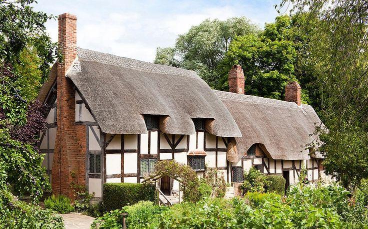 Anne Hathaway's Cottage, Shottery, Stratford upon Avon, Warwickshire