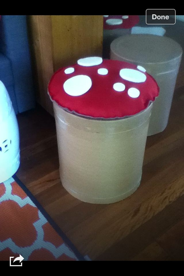 Mushroom chairs!