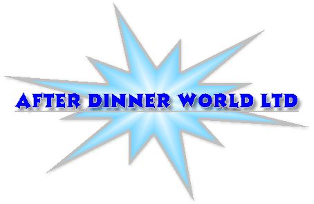 http://www.afterdinnerworld.co.uk/Comedians.html - comedians After Dinner World is a member of the Agents Association (UK) and supply after dinner speakers in the UK and Europe. Speakers include ex footballers, rugby and cricket players and comedians.