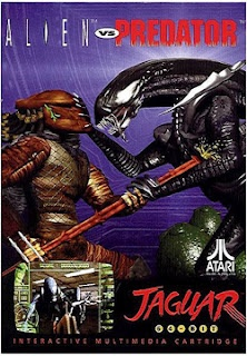 Alien Vs Predator game for the Atari Jaguar. One of the best games of the 90s!