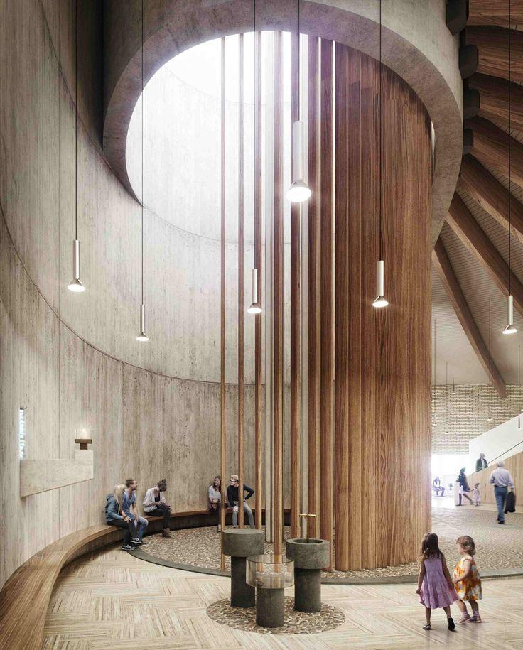 Modernisierte Moderne - Wettbewerb für Umbau der Hamburger Kolbe-Kirche