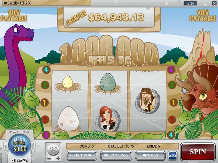 Lasst uns drehen kostenlos online Automat One Million Reels BC - http://spielautomaten7.com/million-reels-bc/