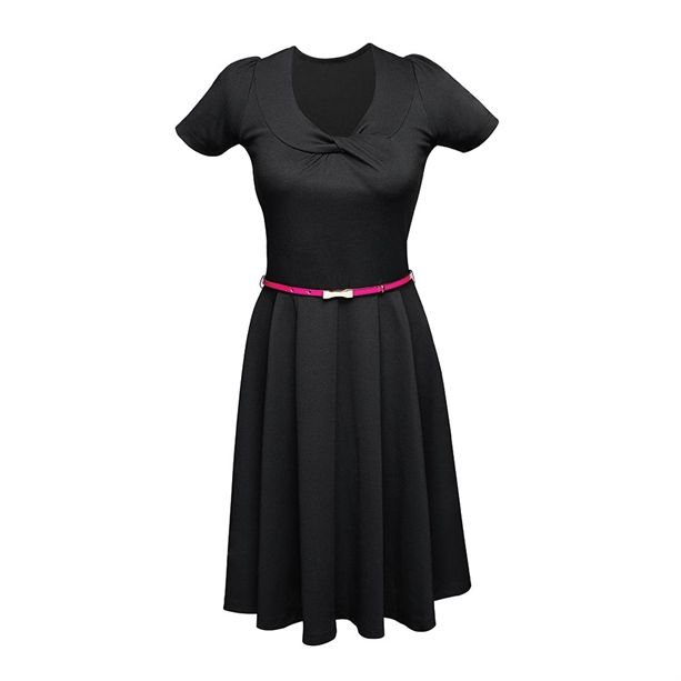 Az AVON Body Illusion ruha övvel egy klasszikus, A-vonalú ruha bármilyen alkalomra és szinte bármilyen alakra.