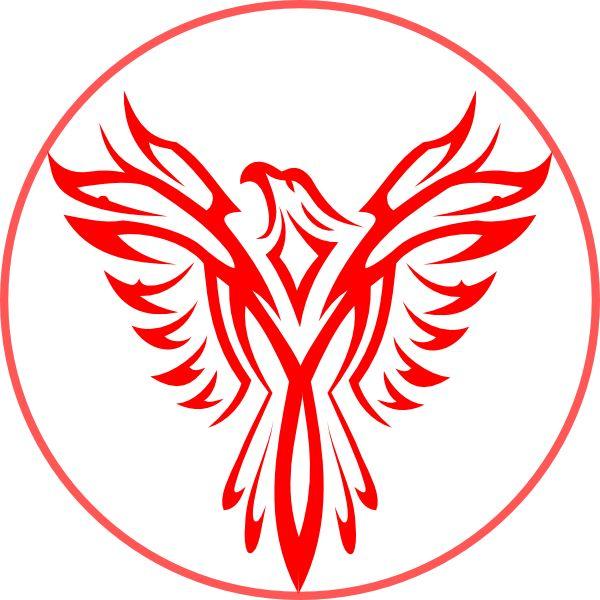 phoenix in a circle 600 600 tattoo pinterest phoenix tattoo and phoenix bird. Black Bedroom Furniture Sets. Home Design Ideas