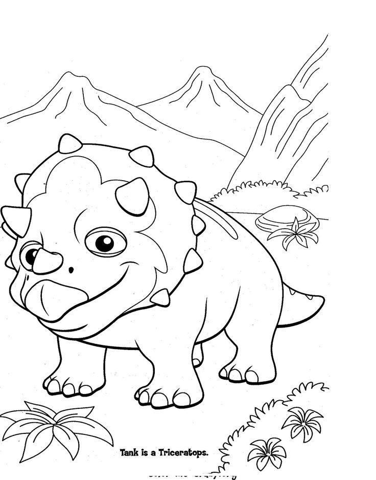 Dinosaur Train Coloring Pages | Dinosaurs Pictures and Facts ...
