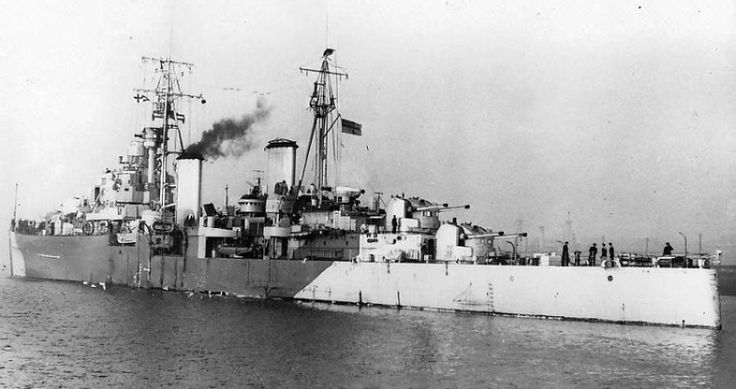 HMS Diadem(84) a Dido class Light Cruiser built by R & W Hawthorn Leslie & Co Ltd & was commissioed on 06/01/44. A modified Dido design she had only 4 turrets but increased AA armamet. Initially serving with Artic convoys , she joined Force G off Juno Beach for D- Day. Returned to Northern Wars with 10th Cruiser Squadron. Served in Home Fleet until 1950 , into reserve & sold to Pakistan in '56. Renamed Babur. Renamed Jahangir & converted to a cadet training ship in '61. Removed from service…