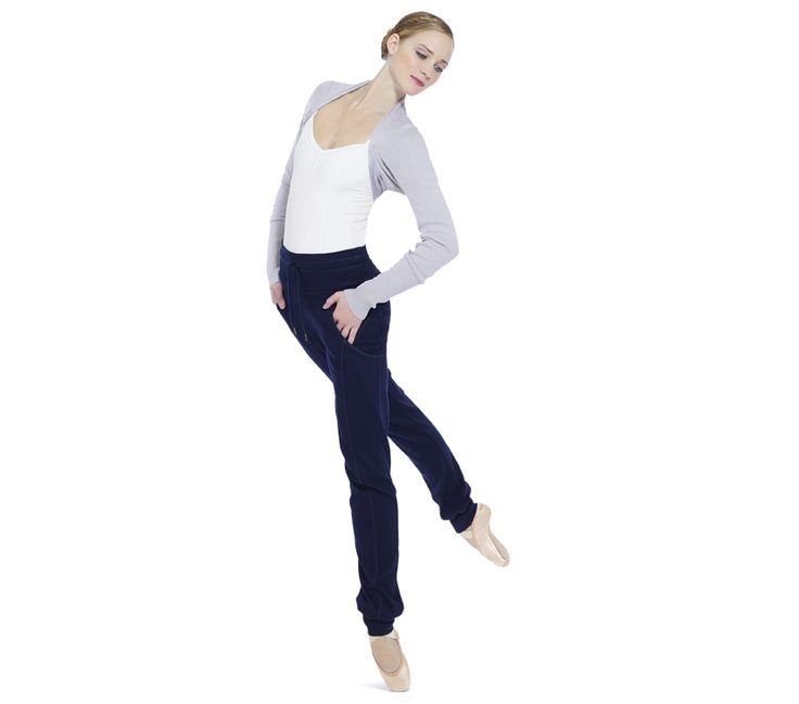 Warm-up pants China blue & Shoulder warmer by Repetto - Collection fall-winter 2014