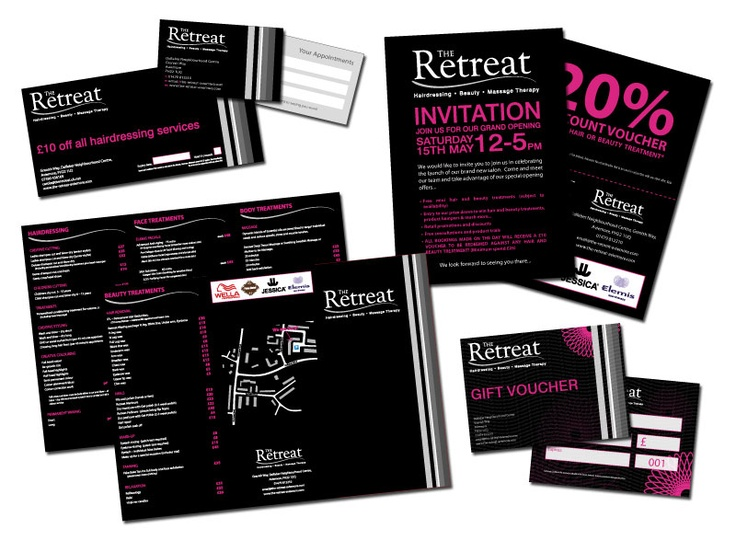 The Retreat, Aviemore, Promotional material and leaflets.