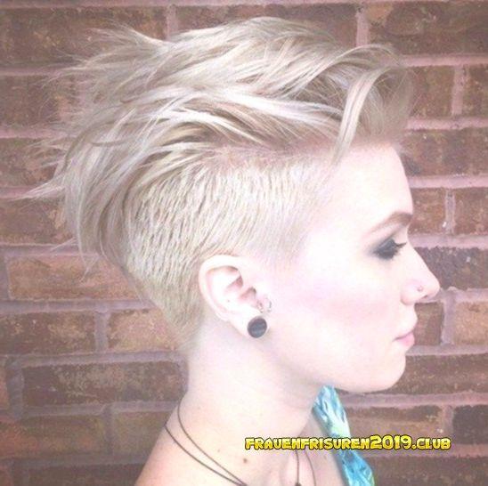 Short Haircuts For Women 2019 Frisuren Frauen Kurz Mit Undercut