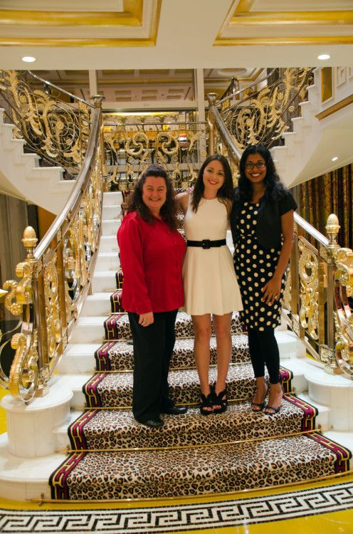 on the steps of royalty, Royal suite at the Burj al Arab