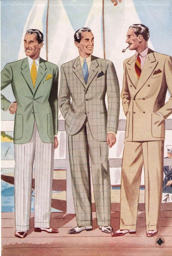 How To Dress Like The 1930s 40s In Today S Age 30s Fashion Men Mens Fashion Illustration 1940s Mens Fashion