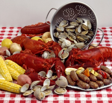 add some meat and veg to your lobster feast.