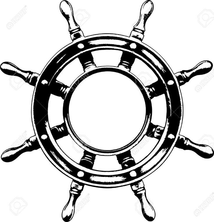 Ship Steering Wheel Royalty Free Cliparts, Vectors, And Stock ...