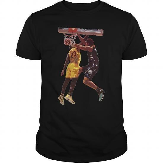Cool Malcolm Brogdon Dunk on LeBron James Shirts & Tees