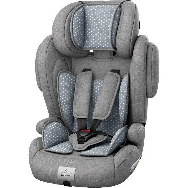 9-36 kg Osann Kinderautositz Flux Plus Gruppe 1//2//3 Autositz Grau