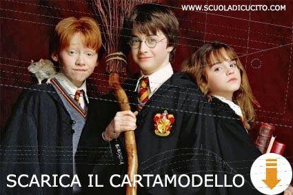 celabbiamofatta: Officina Virtualia: Il costume di carnevale di Harry Potter