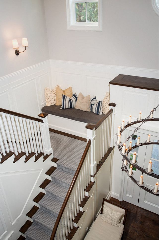Foyer Seating Year : Best images about foyer staircase hallway on