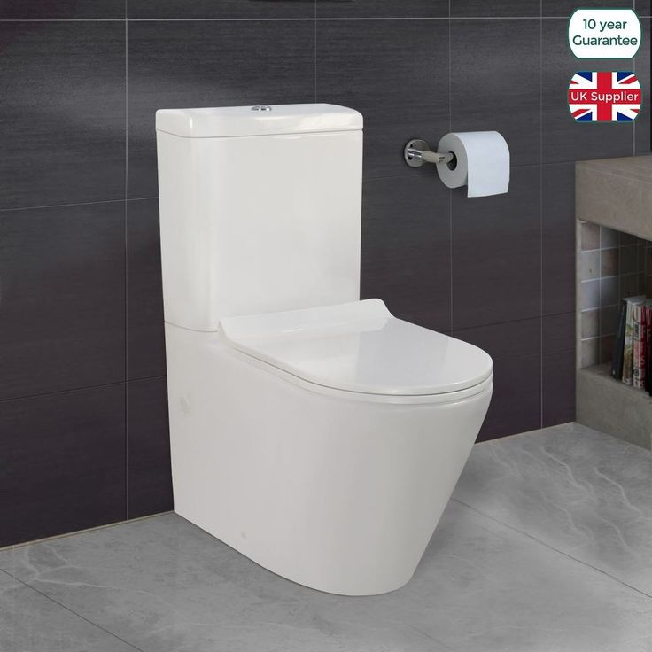 Bath Shower Mixers. Shower Rail Kits. Bath and Basin Taps. Cloakroom Taps. Bath Taps. Bath Fillers. Freestanding Bath Taps. The Cadley Close Coupled Toilet is an ultra modern designer shape. | eBay!